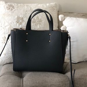 Ann Taylor Gray Crossbody Bag